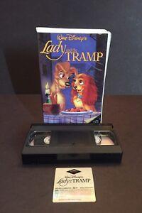Lady And The Tramp Vhs Walt Disney Classics Black Diamond Edition 12257582031 Ebay