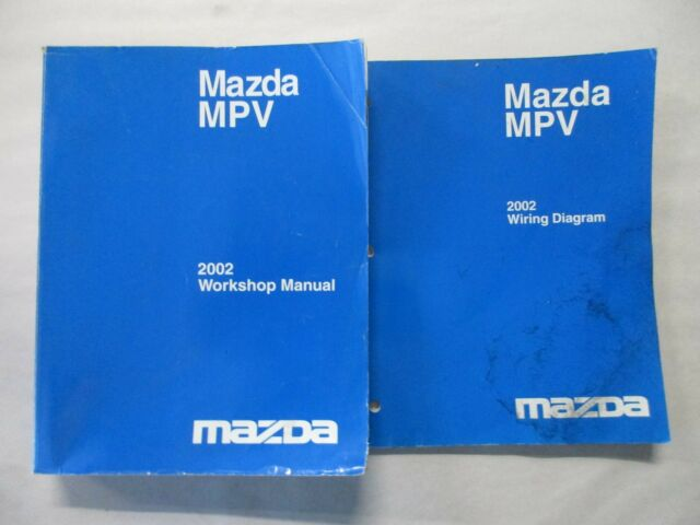 2001 Mazda Mpv Service Shop Repair Set Oem Service And The Wiring Diagrams Full Hd Version Wiring Diagrams Toro As4a Fr