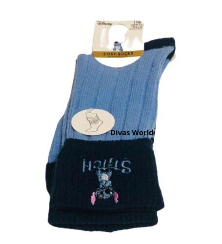 Disney Lilo /& Stitch Cosy Chaussettes Femmes Doux Insert UK 4-8 Cadeau Fantaisie Primark