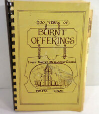 Vintage Church Cookbook First United Methodist Euless Texas Recipes Ring Bound