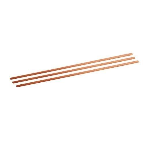 Besenstiel 1220 x 24 mm Holz Besen Stiel für Gartengeräte Holzbesenstiel
