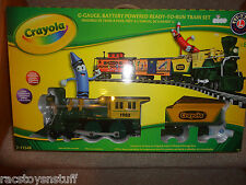 LIONEL CRAYOLA G-GAUGE BATTERY POWERED READY TO OPERATE TRAIN SET, UNOPENED