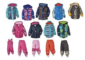 TOP-Kinder-Matschhose-Buddelhose-Matschjacke-Buddeljack-Regenjacke-Regenhose