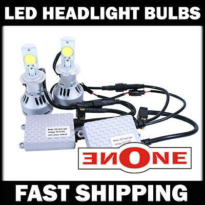 All New 64W LED Cree H7 Super Power 6400LM 6500K Headlight Kit 02-06 Mini Cooper