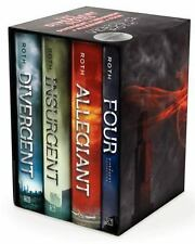 Divergent Series Four-Book Box Set Bks. 1-3 by Veronica Roth (2014, Hardcover)