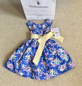 1d62d00de Ralph Lauren Baby Flower Dress. 2 Piece set. Size 9-18 months.Brand ...