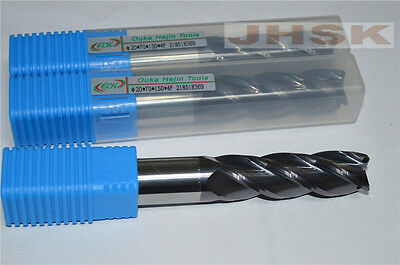 Ø 20mm HRC45 flat 4 flutes Carbide End Mills milling cutter CNC machine roughing