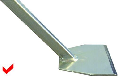Abbruch-Flachdachschaber 1400 mm 30°