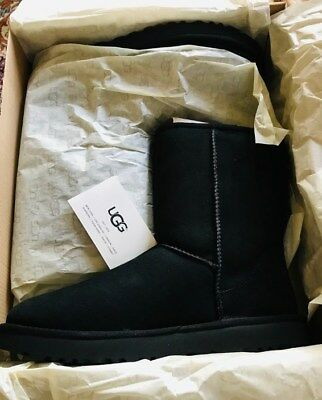 Original Ugg Women's Classic short 5825 W BLK Size: 6 NWT Made in USA | eBay