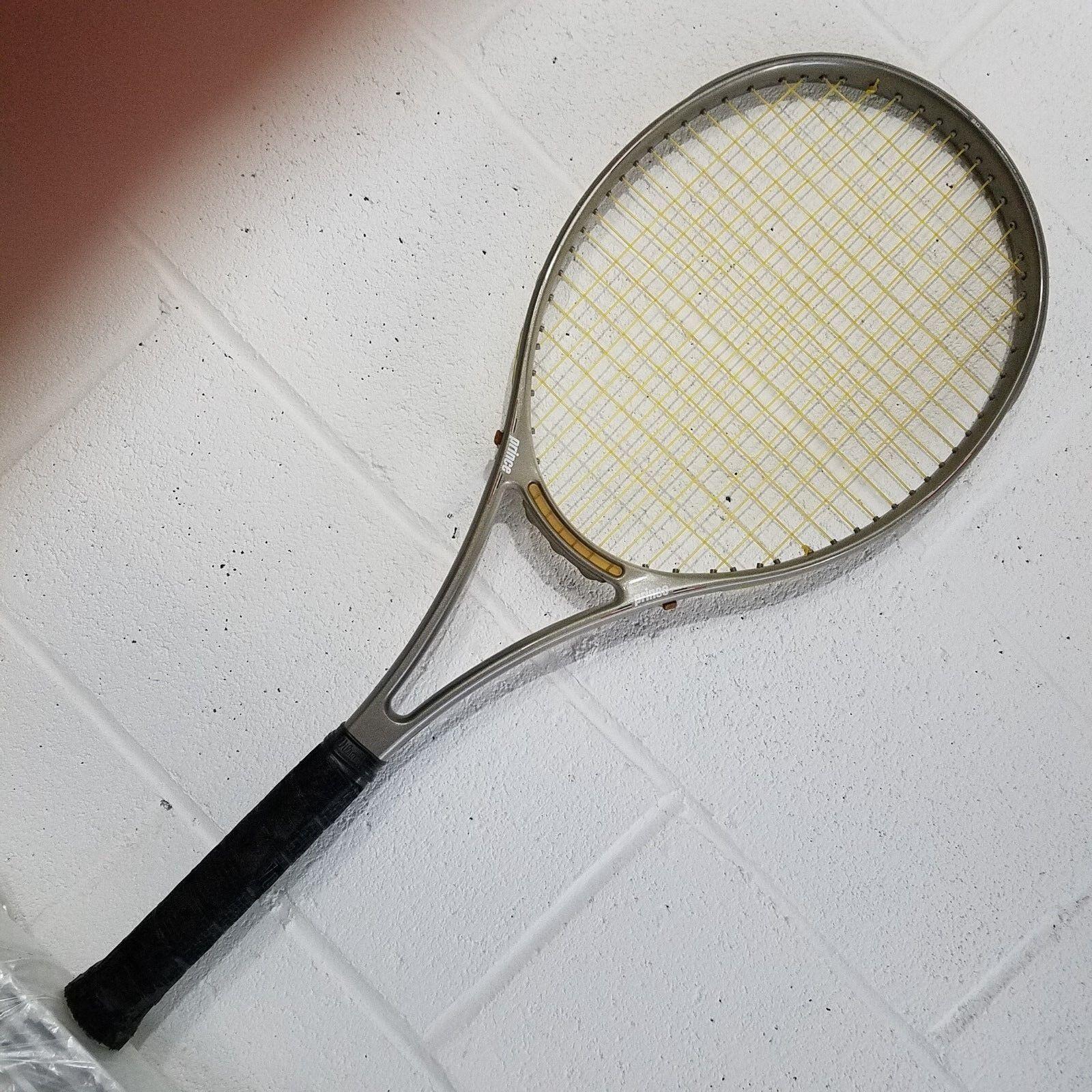 RARE  Prince cts Lightning 90 Raquette De Tennis Grip 4 3 8 très bon