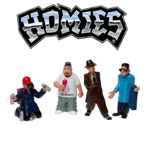 Homies figuras//figures-set 1-1:24-7cm-rareza//Rarity-Embalaje original-nuevo