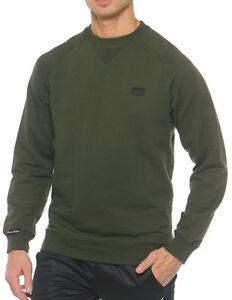 DBlade Mens Sweatshirt Navy Soft Touch Crew Neck Jumper Casual Stylish Work Wear