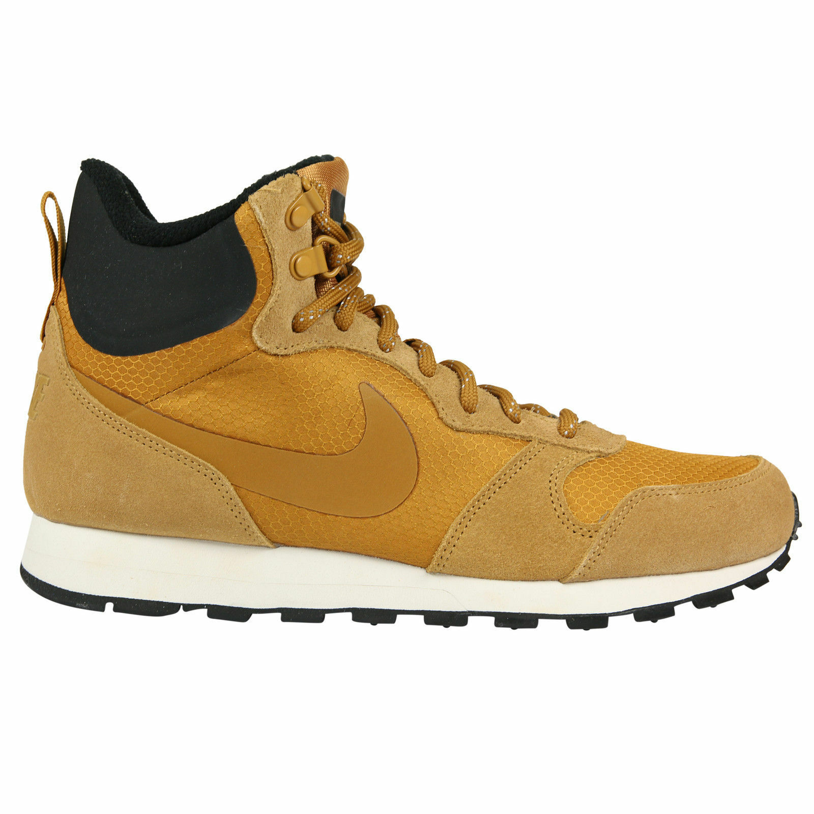 Nike MD Runner 2 Mid Premium Sneaker Shoe Wheat 844864-700 Mens Sz 9 - 11