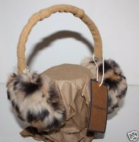 Gh Bass Women's Faux Fur Leopard Ear Muffs