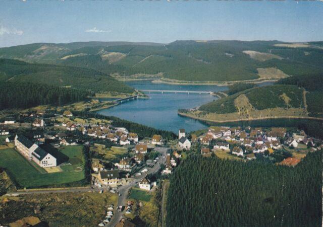 Schulenberg ( Oberharz ) mit Okertalsperre ,Ansichtskarte