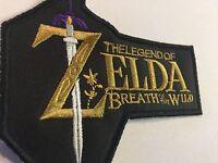 Snes The Legend Of Zelda Breath Of The Wild 4 X 4.5 Patch Super Nintendo Rare