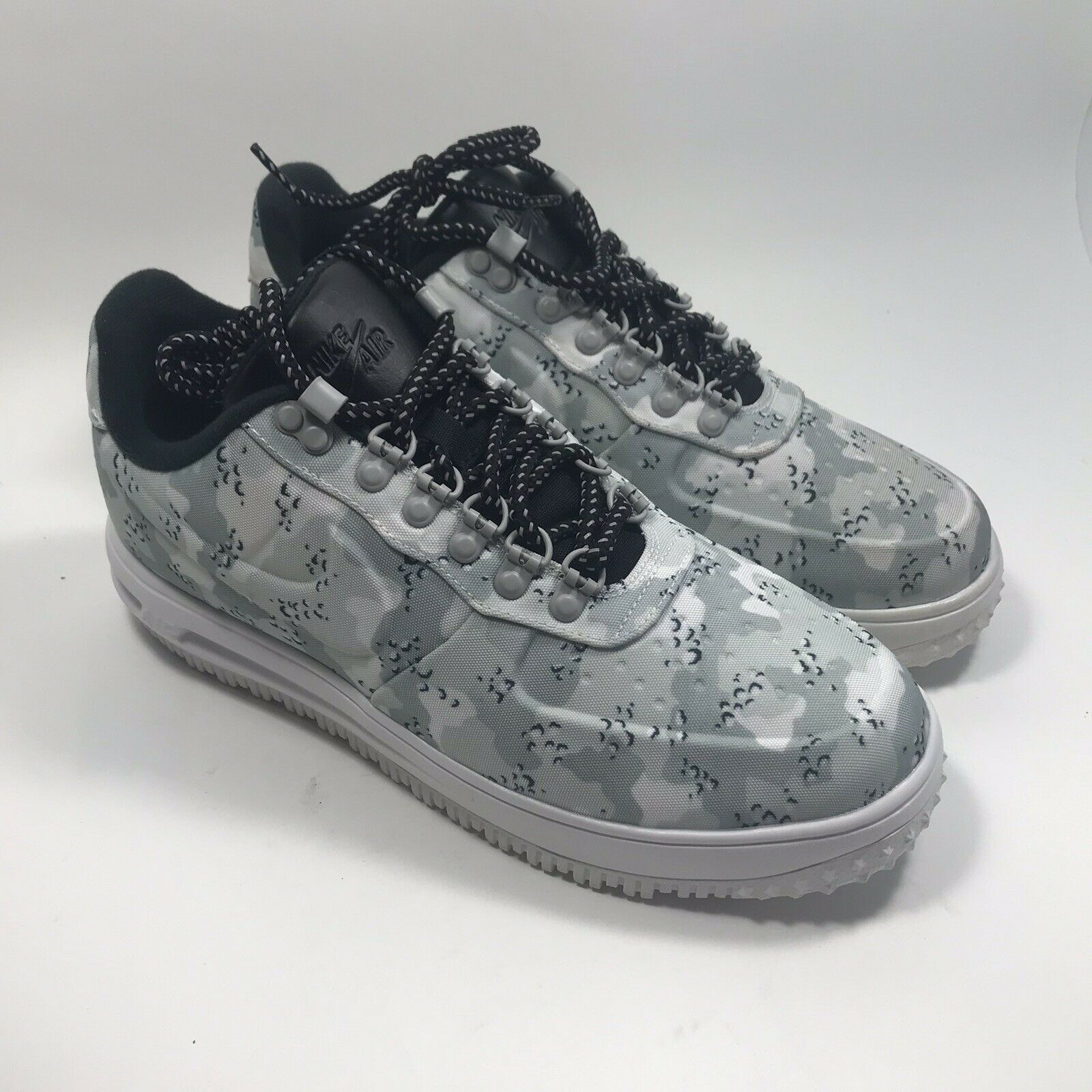 a53fee0a666c32 Nike LF1 Duckboot Low Wolf Wolf Wolf Grey Pure Platinum Size 9.5 Men ...