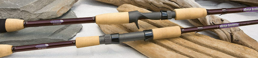 St. Croix Mojo Inshore Casting Rod MIC70MHF - 7'  Medium-Heavy, Fast, 1-Piece  lightning delivery