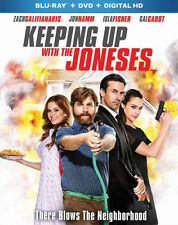 KEEPING UP WITH THE JONESES - BLU RAY - Region A - Sealed