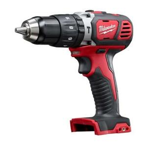 """Milwaukee 2607-20 18V M18 Cordless 1/2"""" Chuck Hammer Drill Tool Only NEW"""