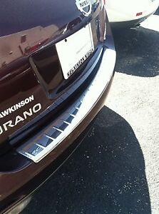 New Oem 2009 2014 Nissan Murano Rear Stainless Bumper Cover Ebay