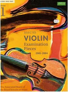 ABRSM-Selected-VIOLIN-Exam-Pieces-2001-2004-Grade-1-New-Music-Book