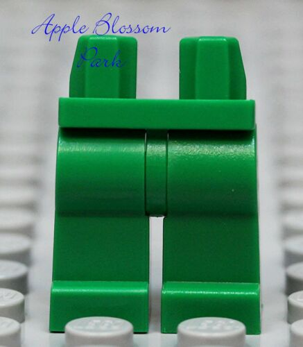 NEW Lego Girl//Boy Minifig Plain GREEN LEGS Male//Female Star Wars Minifigure Legs