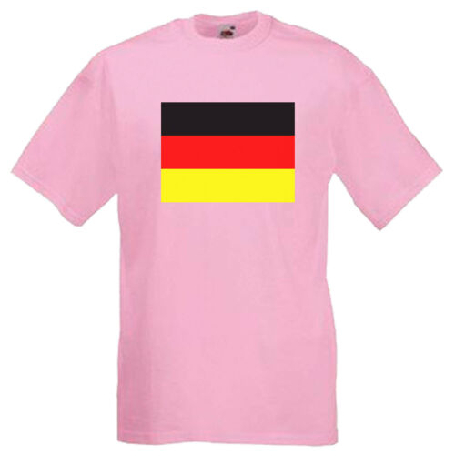 Germany German Flag Children/'s Kids Childs School Event T Shirt