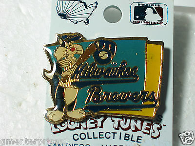 b Sinnvoll Milwakee Brewers Sylvester Baseball Pin-flagge Looney Tune Pin-flagge Weitere Ballsportarten Baseball & Softball