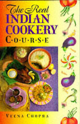 (Good)-The Real Indian Cookery in 21 Steps (Paperback)-Chopra, Veena-0572022700