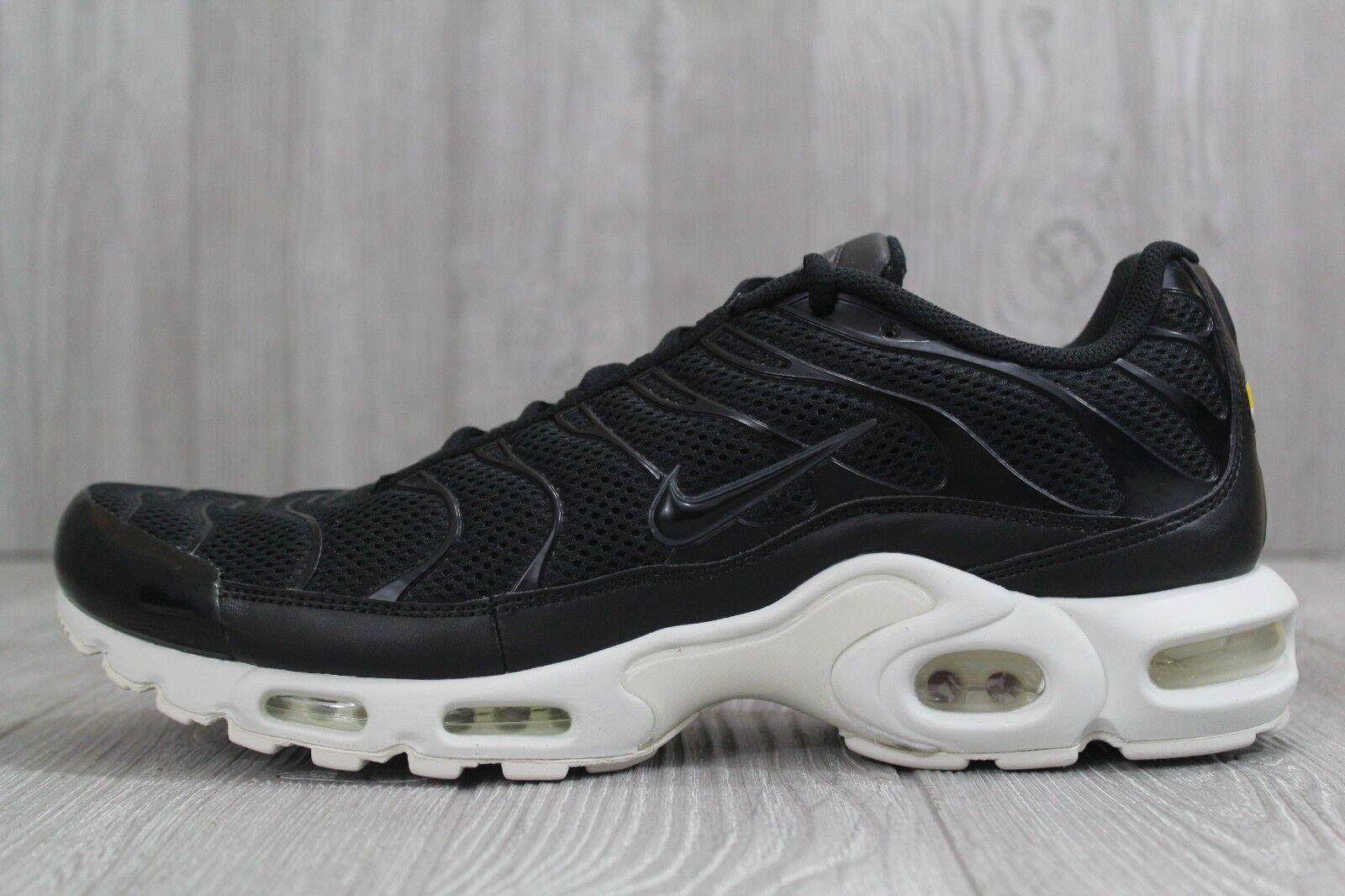 a5c86efa6e5c1 Nike Air Max Plus TN Ultra Mens 898015-001 Black Grey Running Shoes ...