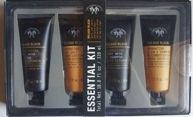 Tri Coastal Design Mens Essential Kit Milagu Black 4pc Kit Ebay