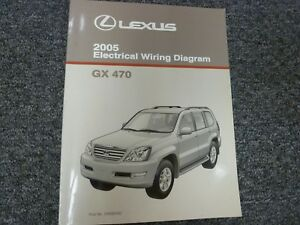 2005 Lexus GX 470 SUV Electrical Wiring Diagram Manual 4 ...