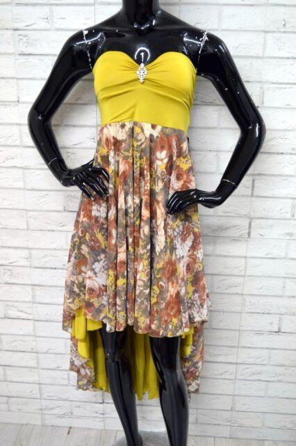 Vestito ARTIGIANALE Donna Dress Woman Taglia 46/48 Abito Party MADE IN ITALY