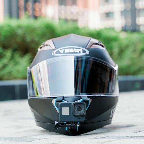 TELESIN Motorcycle Helmet Strap Mount For GoPro Hero 8 7 6 5 Action Camera UK
