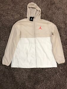 Nike Air Jordan Windbreaker 23 Desert Sand White Infrared Size ... 7bdf47c26