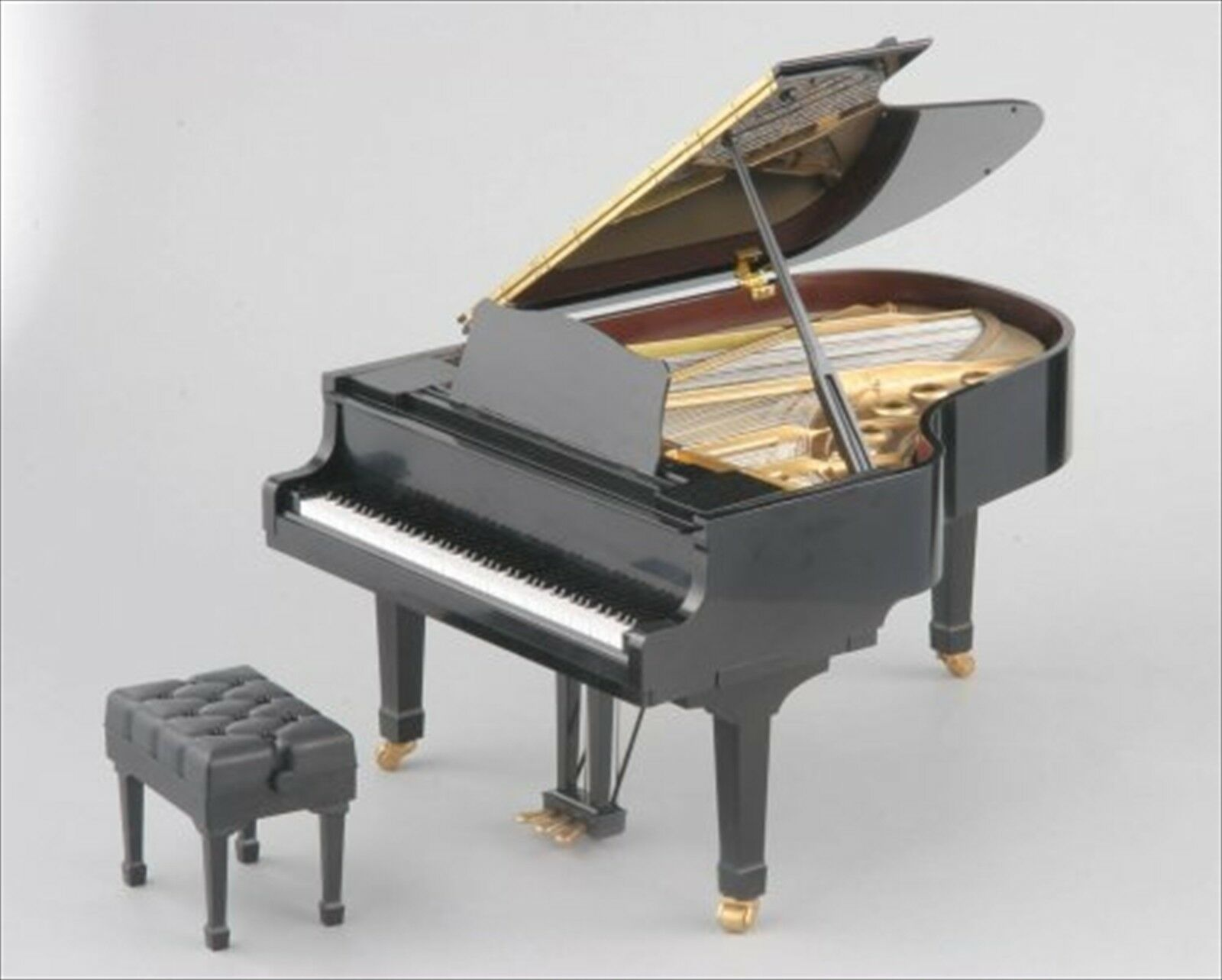 Original Sega Toys Schwarz Grand Pianist 1 6scale Miniatur Grandpiano Japan Neu