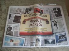The Life and Times of Michael Jackson 1958-2009 The New York Times Never Opened