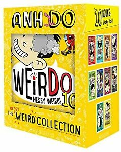 NEW Weirdo The Messy Weird Collection 10 Book Collection by Anh Do Kids Gift Set