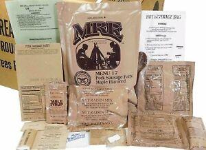 MRE U.S. MILITARY Case A/B 4 Random Draw - MEAL, READY TO EAT