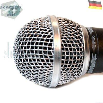 Ersatzkugelkopf Mesh Abdeckungs Mikrofongitter für drahtlose Mikrofone,
