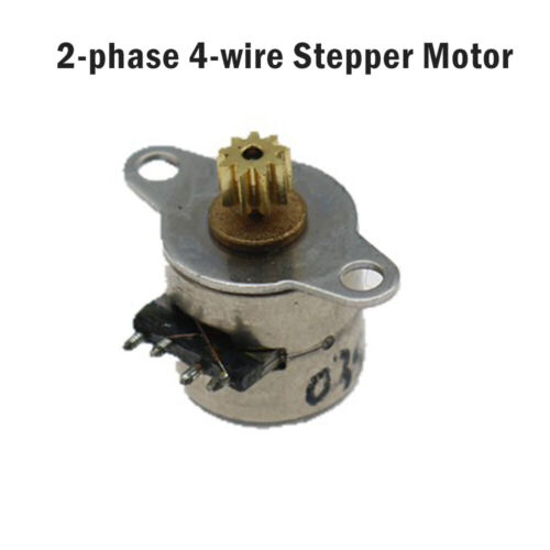 4 hilos motor paso a paso 2 fases Micro diámetro 8mm Mini
