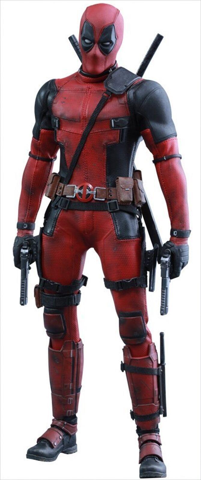 Hot Toys Marvel Comics Movie Masterpiece Deadpool 1/6 Scale Action Action Action Figure 396181