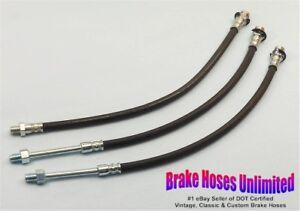 BRAKE-HOSE-SET-American-Motors-Ambassador-1971-1972-Disc