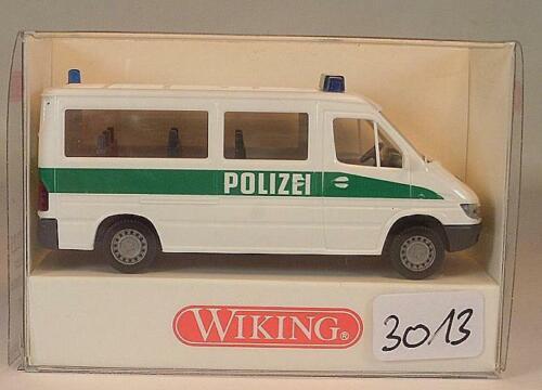 Wiking 1//87 Nr 104 12 25 Mercedes Benz Sprinter Polizei OVP #3013