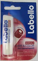 Labello Care & Color - Marsala Red Lip Balm/ Chapstick -1 Pack - Made In Germany