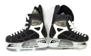 CCM-92-Pro-E-Performance-Mens-Hockey-Ice-Skates-NHL-Size-US-8-Black-White