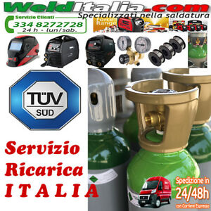 SERVIZIO-RICARICA-BOMBOLA-DA-5-7-10-14-LT-200-BAR-MISCELA-ARGON-OSSIGENO-AZOTO