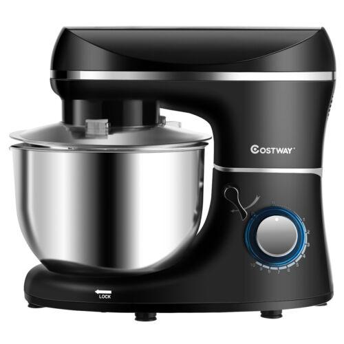 Küchenmaschine 10-stufigen 1300W Elektrischer Standmixer Rührmaschine 5,5L