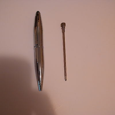 EFX Ballpoint Pen Miniature 10cm Women silver steel Elegant Ladies Handbag Pen